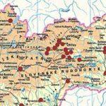 Draveckí na mape Slovenska
